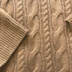 J. Crew Sweaters - Collection cashmere cable sweater